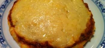 Pastel de carne con patatas