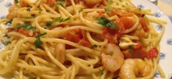 Espaguetis Mare e Monti