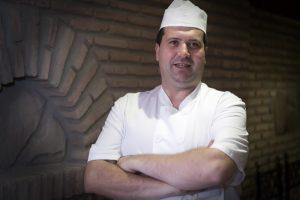 Juan Morales, jefe de cocina del Moriles
