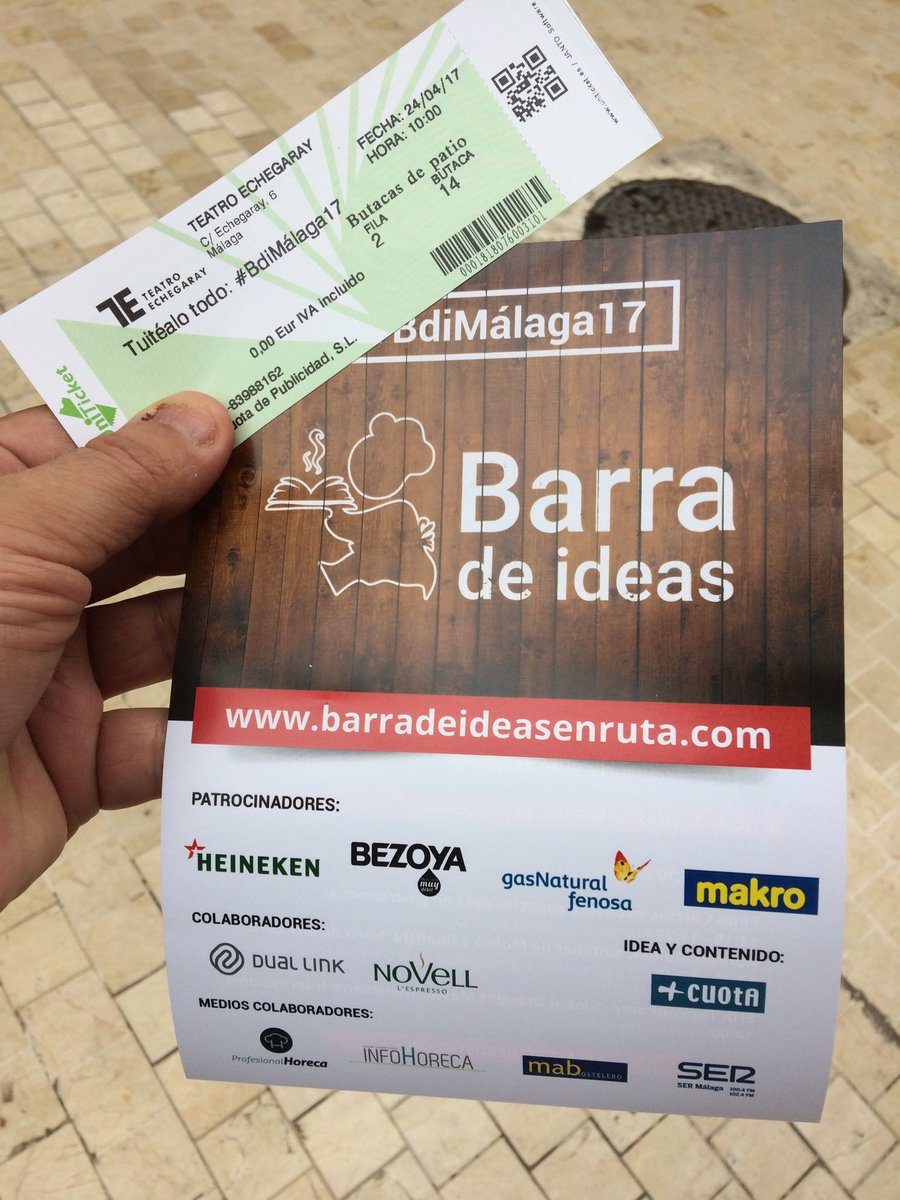 xito del evento de barra de ideas en m laga arranz